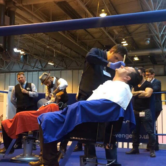 shaving barber shave shaving competition barber barbering expo barber ...