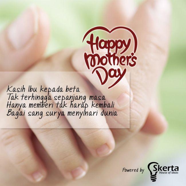 Skerta Mengucapkan Selamat Hari Ibu Terima Kasih Ibu karena Engkau Kami Bisa Seperti Sekarang Semoga Doa Mu Selalu Mengiringi Perjalanan Kami #happymothersday