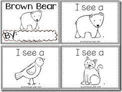 Brown Bear Easy Reader!