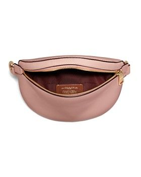 9cddca0820 COACH - x Selena Gomez Leather Belt Bag