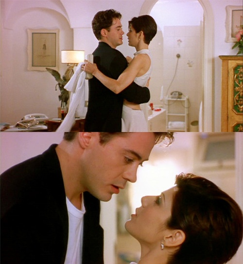<3 Robert Downey Jr. (Peter Wright) & Marisa Tomei (Faith Corvatch) <3 Only You directed by Norman Jewison (1994) <3 #love #soulmate