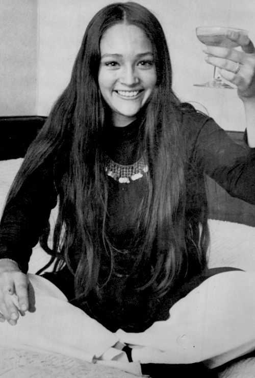 Olivia Hussey, 1968.