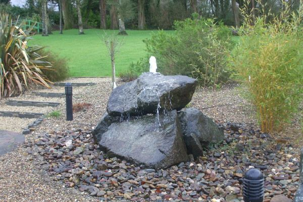 25 Best Ideas About Rock Fountain On Pinterest Diy