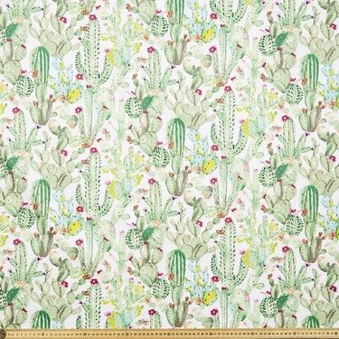 Cactus Montreaux Drill Multicoloured 112 cm