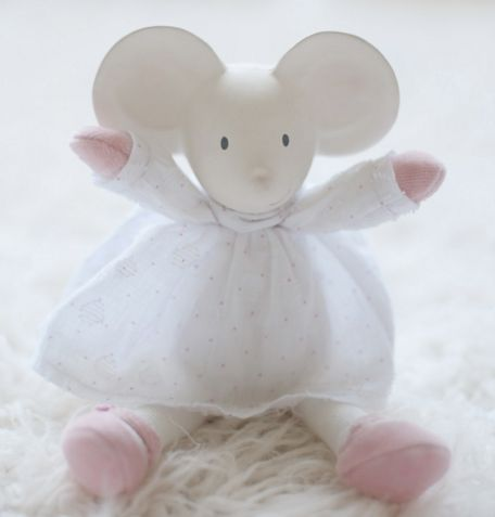 "Meiya Mouse Mini Plush 9"""