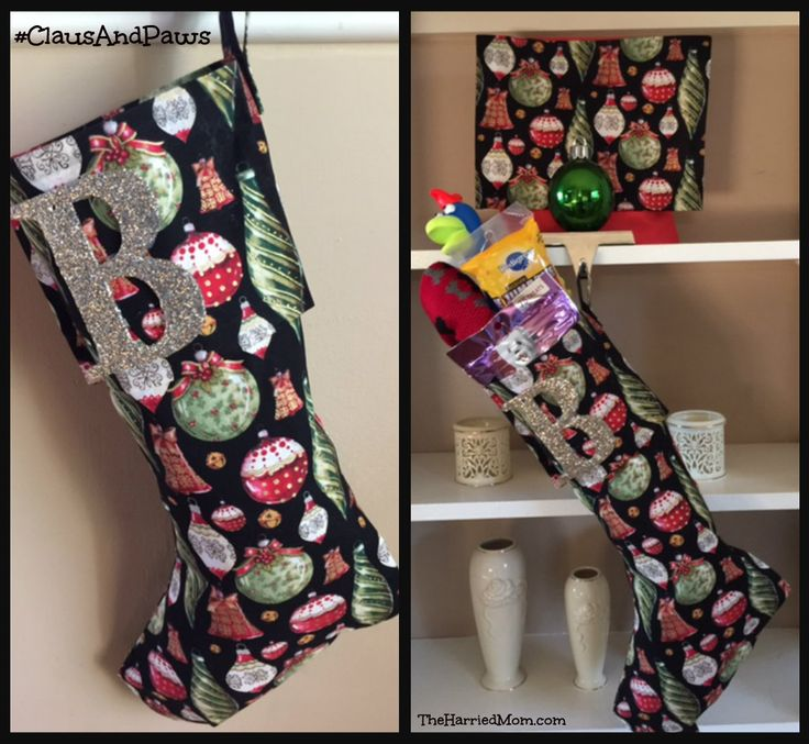 DIY No-Sew Stockings by Roxanne of The Honeycomb Home. Hello there! I'm Roxanne from The Honeycomb Home. I am very excited to be guest posting here on Remodelaholic! My project today is how to make a no-sew Christmas stocking. This is for all of us who are sewing machine challenged. My Christmas stocking story is a long one.