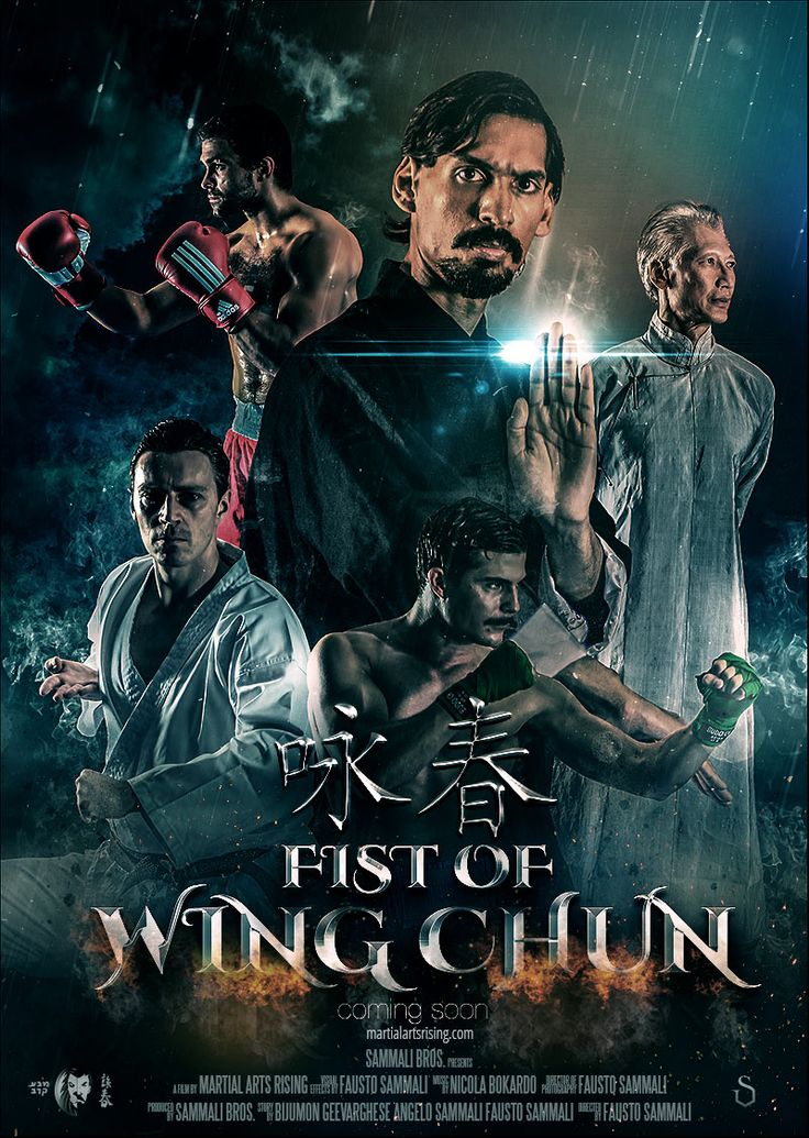 We're working on our next Martial Arts Short Film called Fist of Wing Chun. Its currently in pre production. At the same time we're working on some visuals for key artwork. Here's the first poster: More infos here: martialartsrising.com