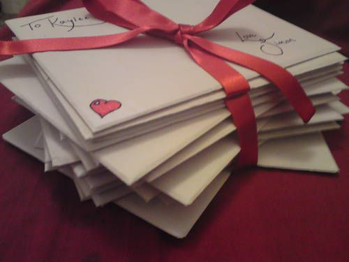 Best Love Letters Images On   Letters Snail Mail And
