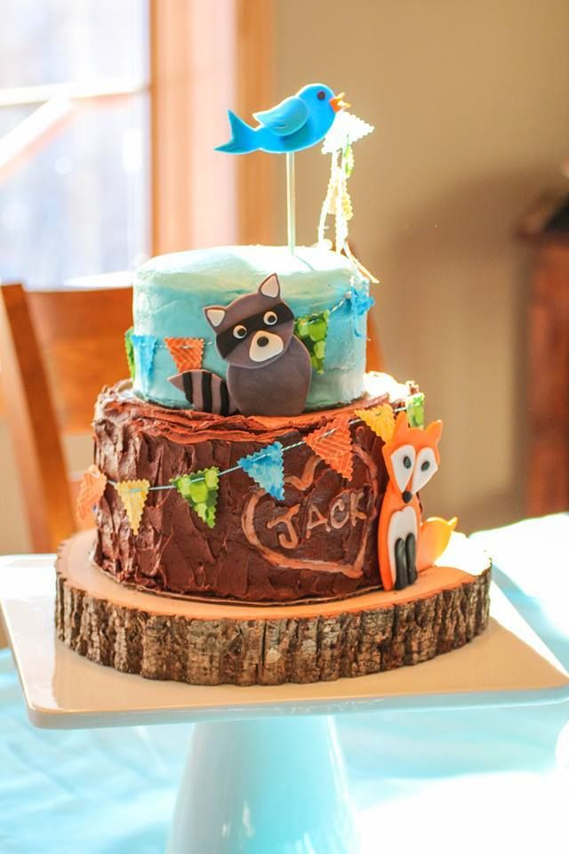 woodland baby shower cake 291 best images about non fondant cakes on 1495