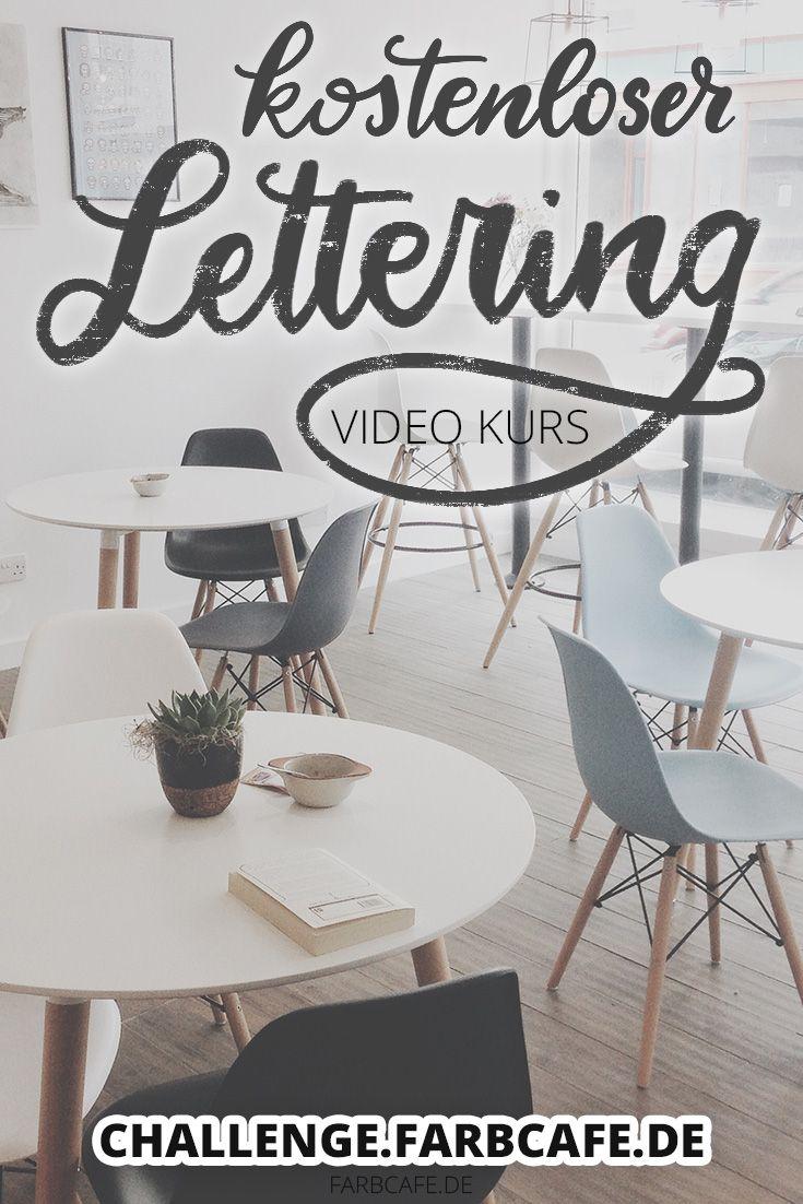 Kennst du schon diesen kostenlosen Video-Kurs? Lerne Handlettering! #lettering
