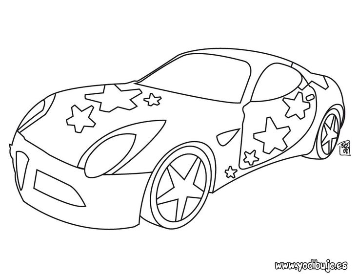 65 best COCHES images on Pinterest  Car Draw and Coloring books