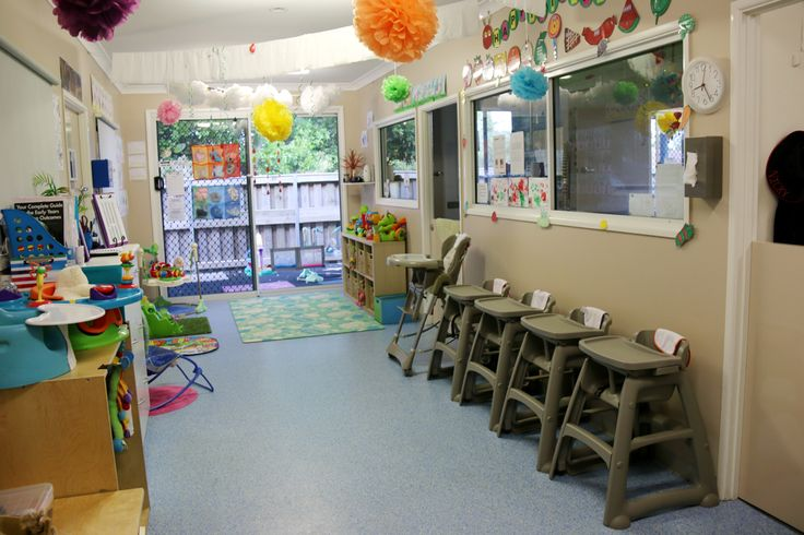 Our nursery is clean, tidy and organised