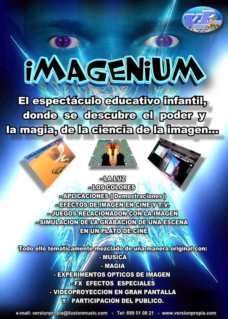 Espectáculo educativo: IMAGENIUM