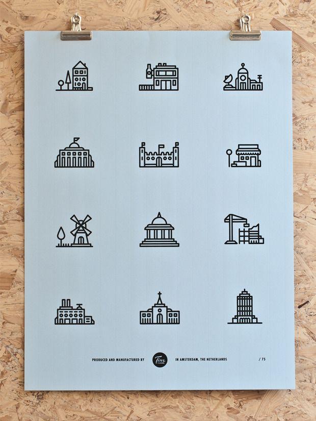 Poster by Tim Boelaars (http://timboelaars.nl/) via losttype.com