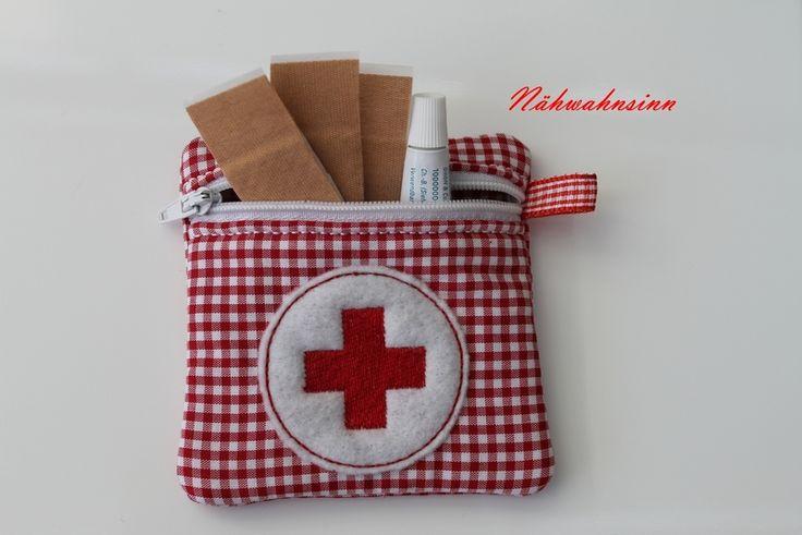 Notfall-Täschchen von Nähwahnsinn auf DaWanda.com