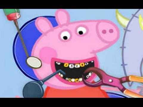 Peppa Pig Dentist Episodes New Compilation English - YouTube
