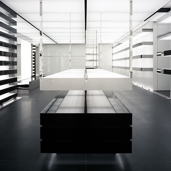 Dior Homme Omotesando in Tokyo  by architecture et associés  _