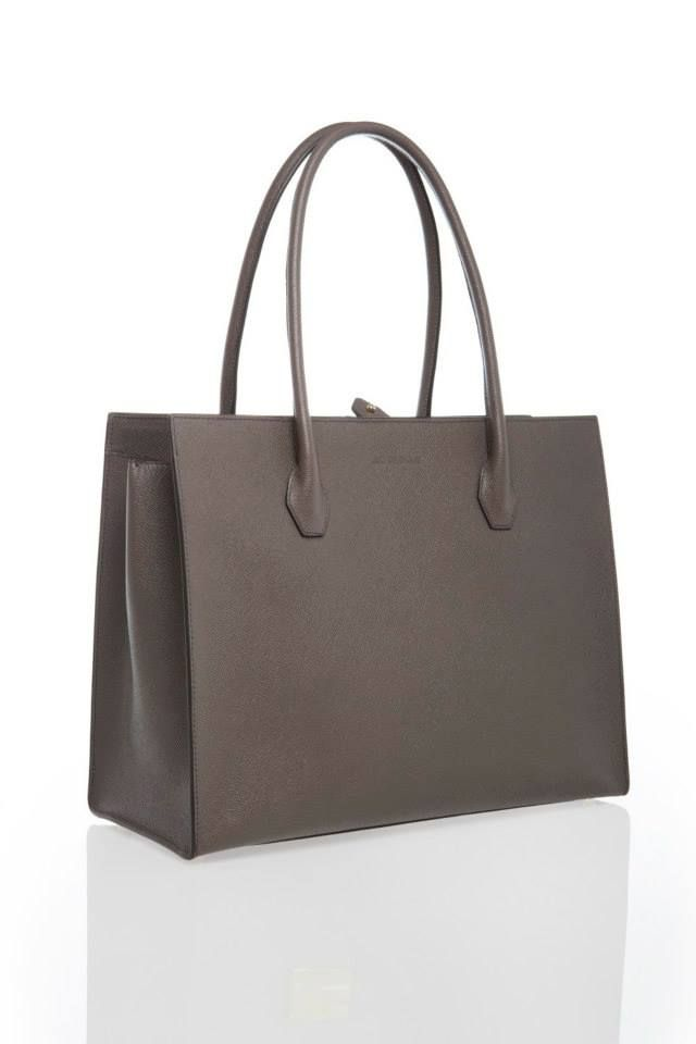 Dara Slate Grey www.akichoklat.com | Aki Choklat | #luxurybag #businessbag