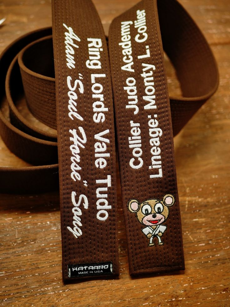 Exclusively At Kataaro Transition Martial Arts Belts