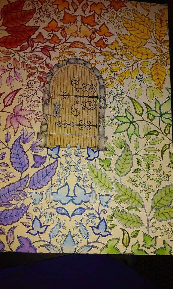 17 Best Images About Coloring Johanna Basford Secret Door