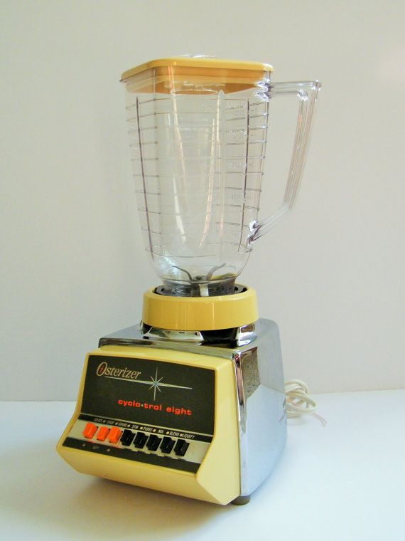 Vintage Yellow Blender Vintage Blender Vintage by RackedVintage