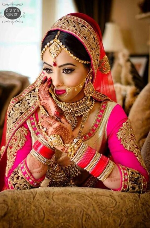 Dulhan in pink