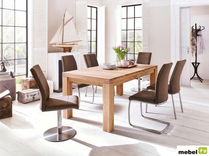 Stół drewniany ARON rozkładany - sklep meblowy