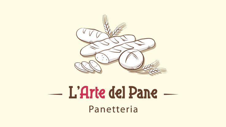 Progettazione Logo - L'Arte del Pane | Studio Ellipse - Grafica e Web Design