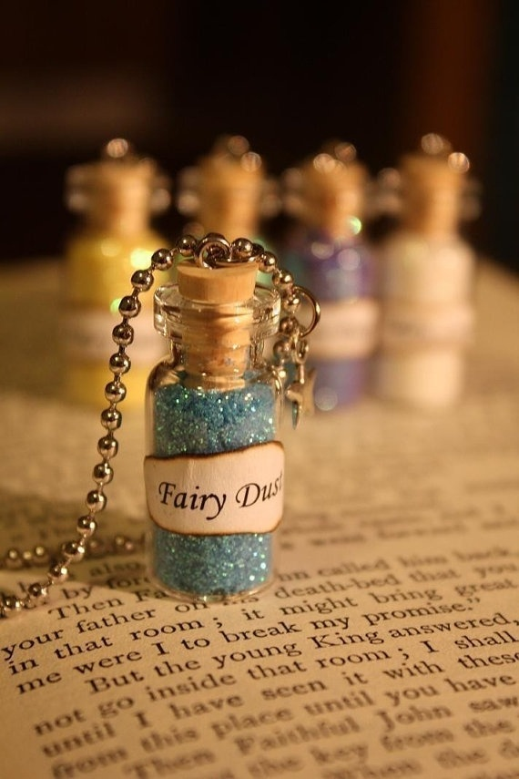 On the Cheap! Buy your own bottles & purchase Eve's Fairy House Glitter $8.95 to fill the bottles up! You'll have plenty left over for other applications!  Even for Face paint!