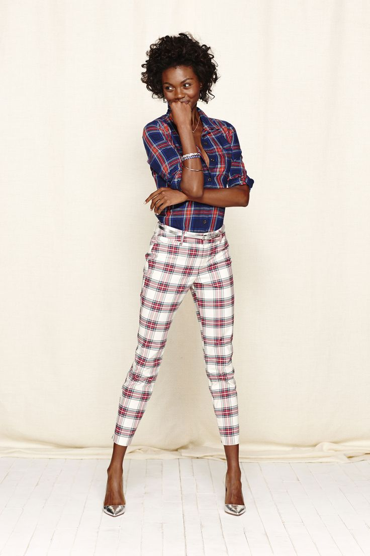 5 non-lame ways to wear plaid this holiday season