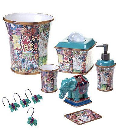 42 best my bath wanderlust images on pinterest for Dillards bathroom accessories sets