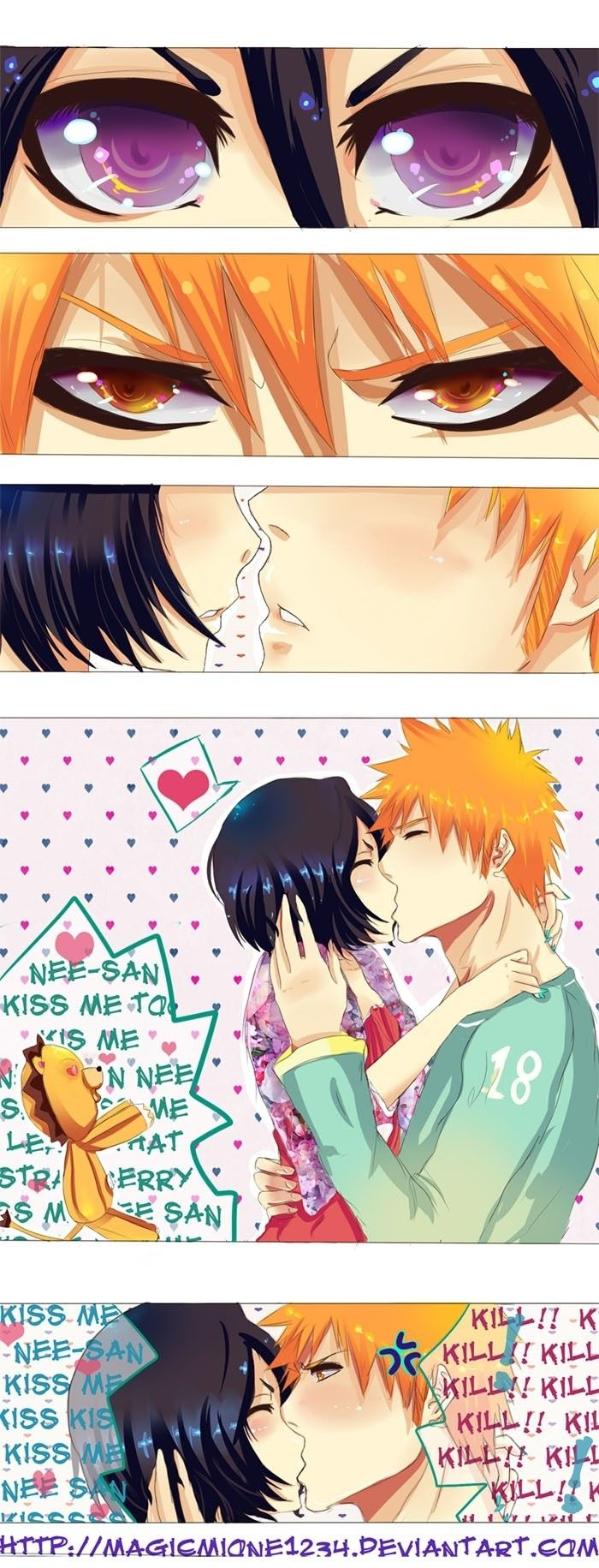 Why the fuck did they ship orihime and ichigo together rukchigo was obviously the ship