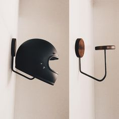We seriously need something like this... Our 4 or 5 helmets are all stuffed haphazardly in the hall closet.