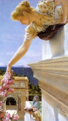 The Athenaeum - God Speed! (Sir Lawrence Alma-Tadema - 1893)
