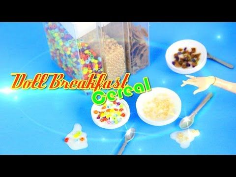 321 best homemade barbie stuff images on pinterest barbie stuff how to make doll breakfast cereal doll crafts ccuart Choice Image