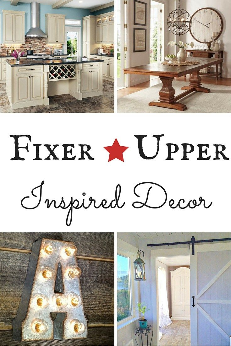 Fixer upper inspired decor home interiors and style for Does the furniture stay on fixer upper