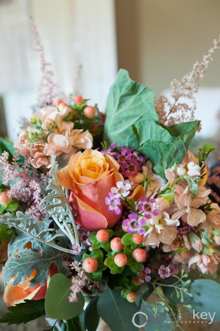 my rustic wedding flowers