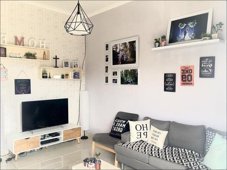 desain interior ruang tamu minimalis lahan sempit...