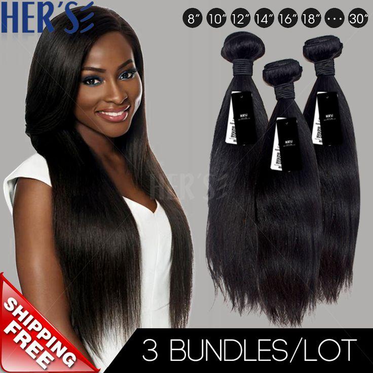 Goddess Beauty!Indian Virgin Hair Weave STRAIGHT, 3PC Unprocessed Virgin Indian Human Hair,Best Human Hair Extensions Aliexpress US $96.75