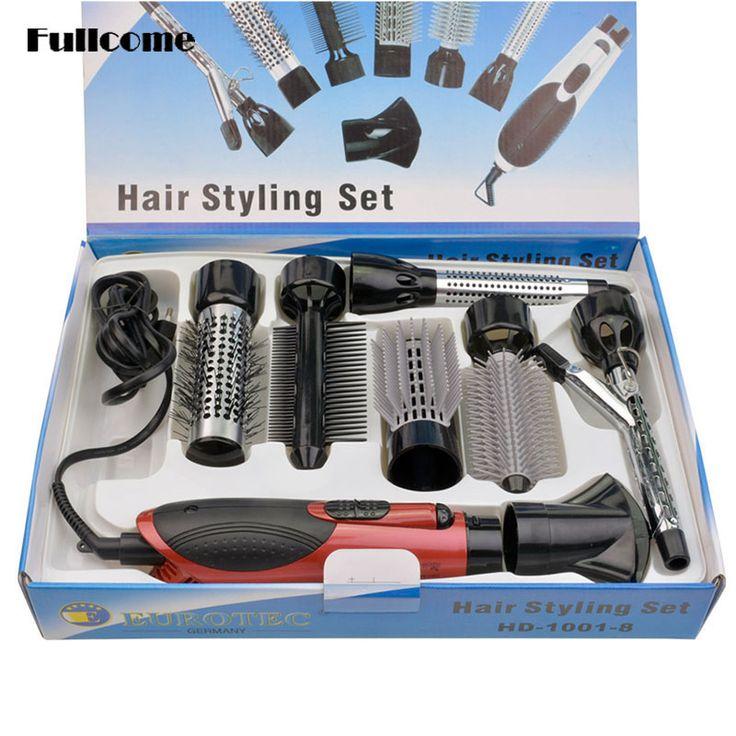 Professinal Hairdryer Hair Dryer Curler Curling Iron 7 in 1 Styling Tool Set secador de cabelo for Household Salon 110V-240V 42