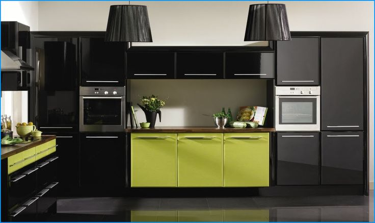 Best Lime Green Black Kitchen Decor Ideas Pinterest Black 400 x 300