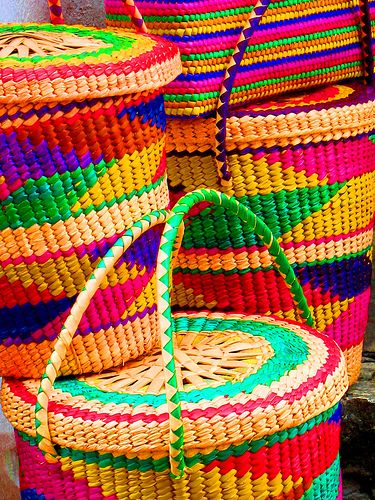 Mexican baskets