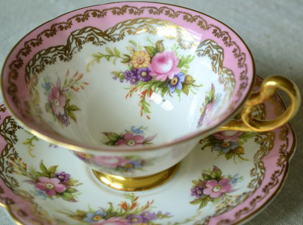 Artful Affirmations: Tea Cup Tuesday-Summer Showers and Flowers