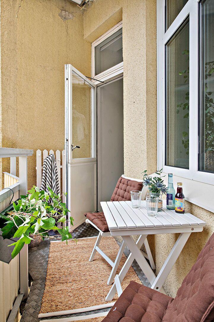Balkong Small Balcony DecorTiny 29 best
