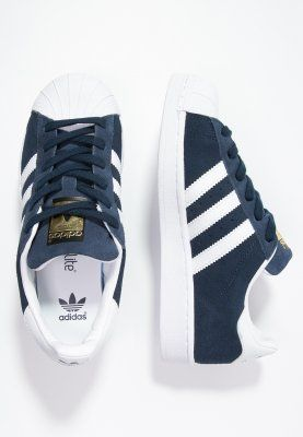 Adidas Women Shoes - adidas Originals SUPERSTAR - Sneaker low - collegiate navy/white - Zalando.de - We reveal the news in sneakers for spring summer 2017