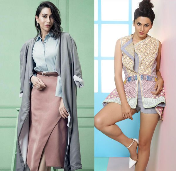 Judwaa 2: There is an interesting connection between Taapsee Pannu and Karisma Kapoor in the film #FansnStars
