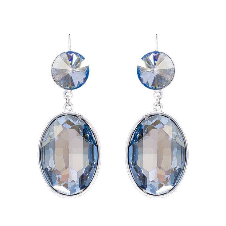 Shine Earrings - Oval Shape