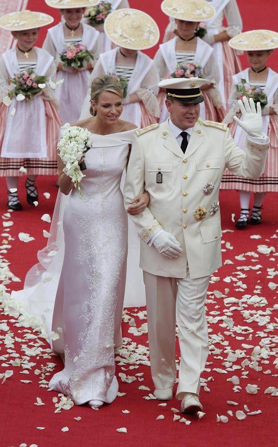 Charlene before wedding