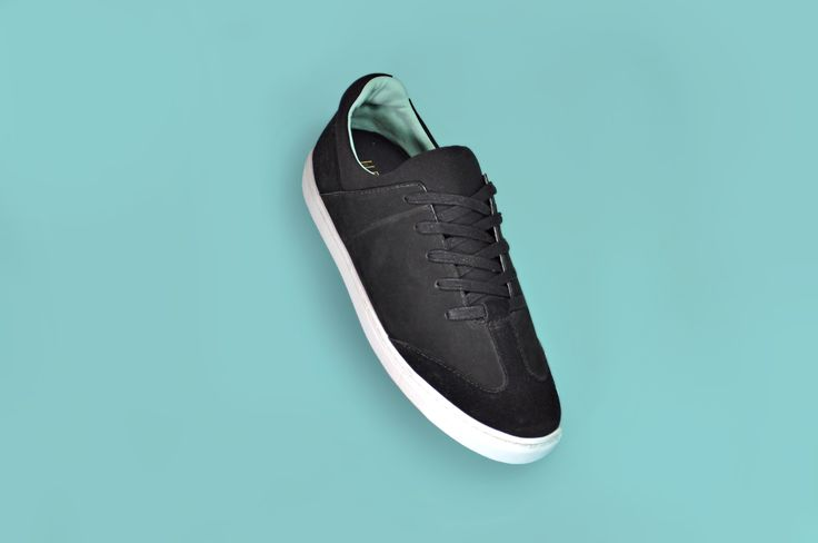 All black Coleman with white sole and ice green lining // ELECT Footwear - Our Shoes //