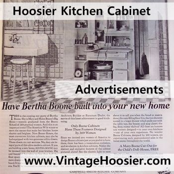 Kitchen Cabinets Ideas kitchen cabinet magazine : 17 Best images about Hoosier Cabinet Advertisements on Pinterest ...